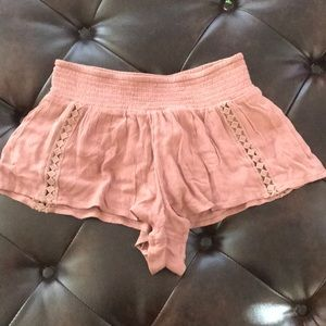 O'Neill Dusty Rose Pink Softy Shorties S